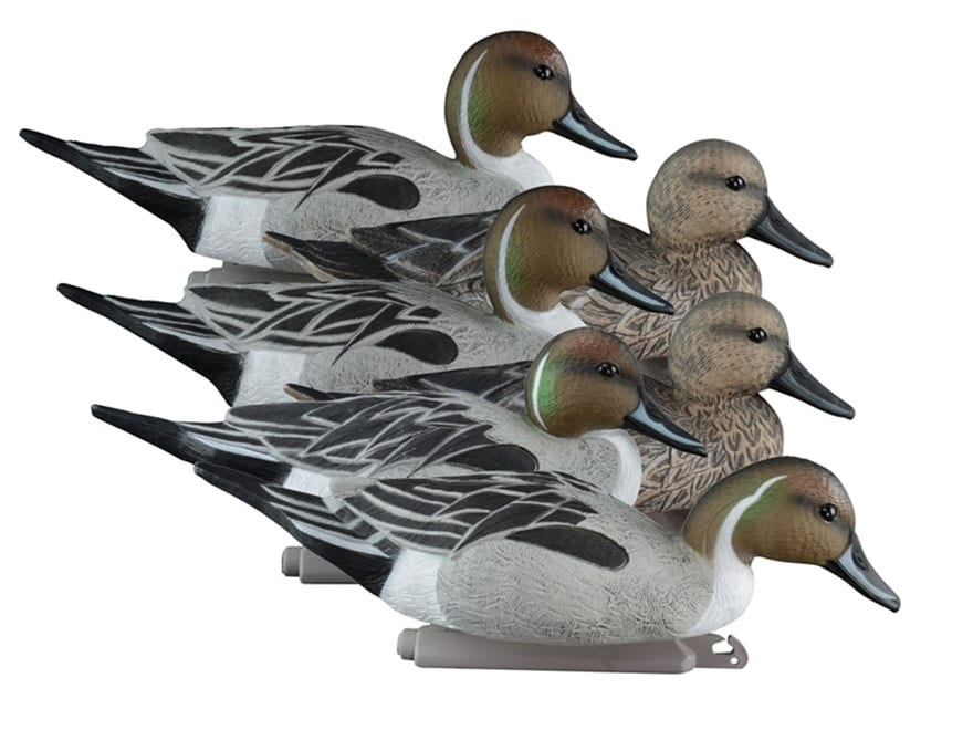 Higdon Standard Pintail Duck Decoy Polymer Pack of 6