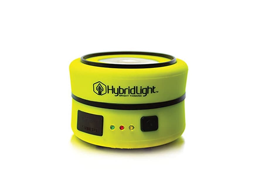 HybridLight PUC Solar Expandable Lantern LED Rechargeable Battery Yellow