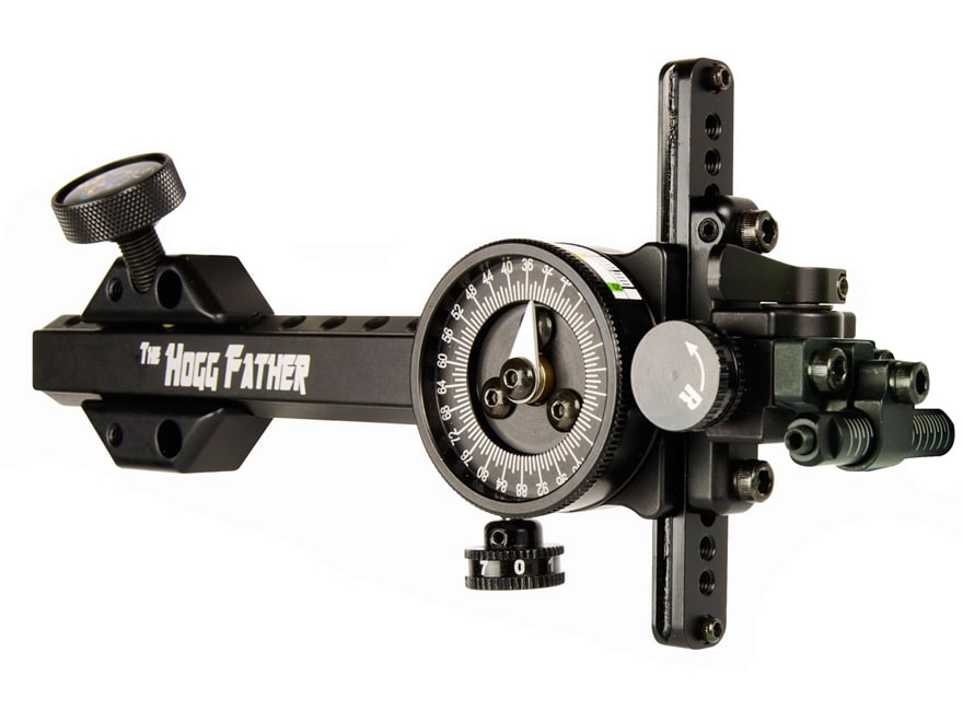 Spot-Hogg Hogg Father Bow Sight Base with Scope Adapter Left Hand