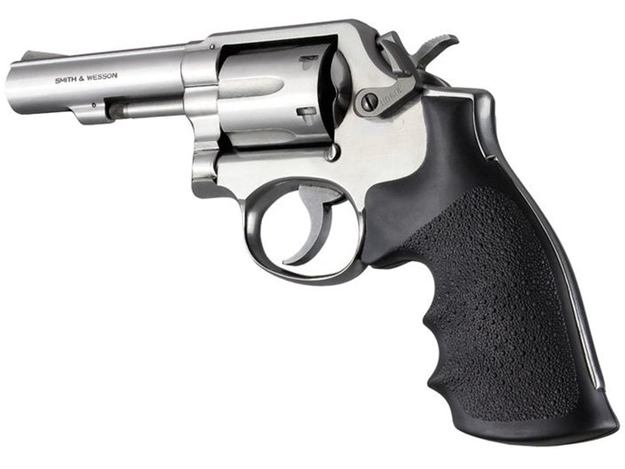 Hogue Monogrip Grips Taurus Medium and Large Frame Revolvers Square Butt Rubber Black