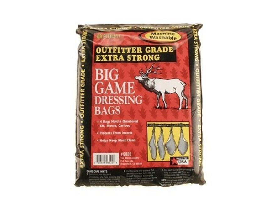 Allen Big Game Dressing Bag Elk Stretch Cotton Pack of 4