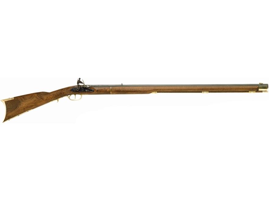 "Traditions Kentucky Muzzleloading Rifle 50 Caliber Flint 33.5"" Blued Barrel Select Hard..."