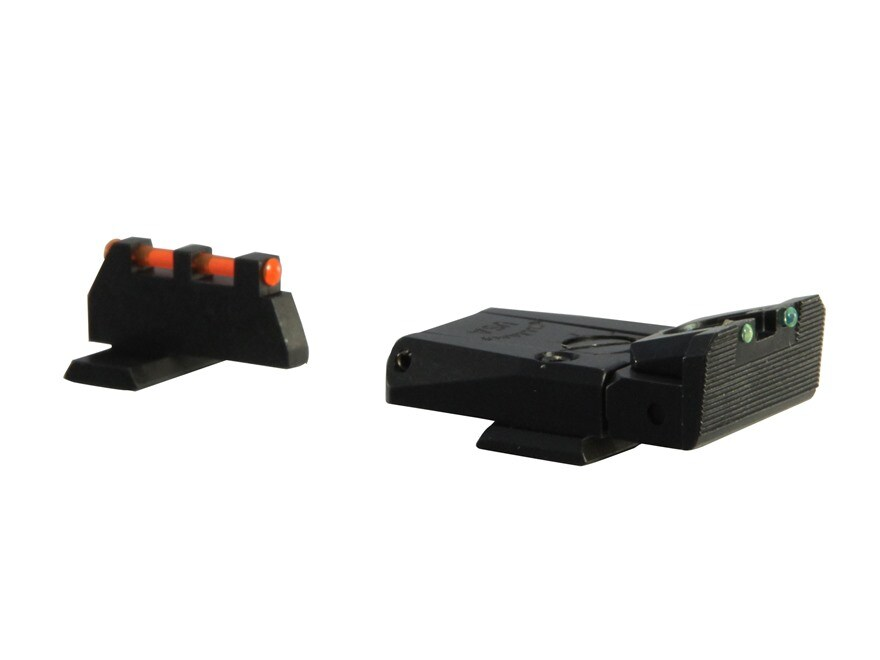 Williams Fire Sight Set FN, FNX, FNS Fiber Optic Red Front, Green Rear