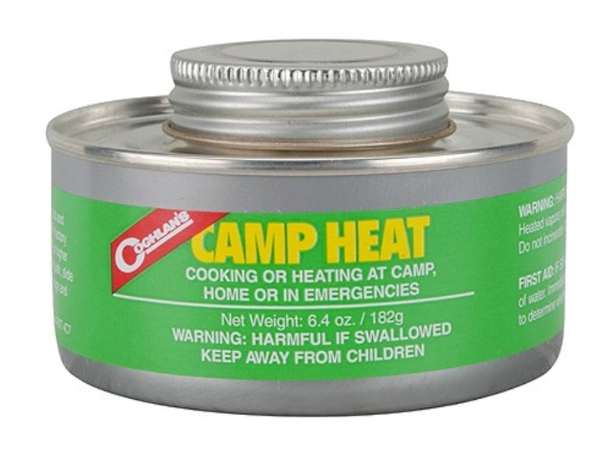Coghlan's Camp Heat 6.4 oz Pack of 2