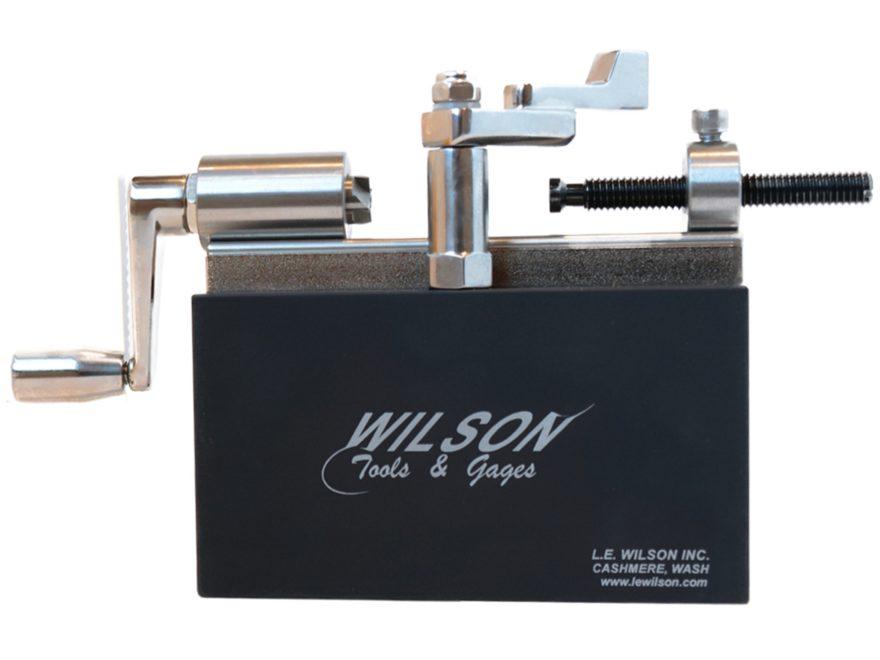 L.E. Wilson Case Trimmer Kit Stainless Steel