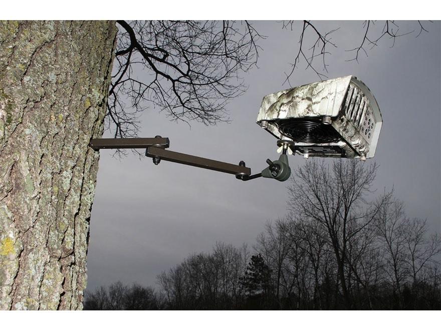 HME Heavy Duty Ozone Generator Tree Mount Steel Black