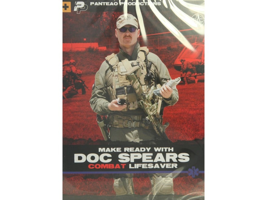 """Panteao """"Make Ready with Doc Spears: Combat Lifesaver"""" DVD"""