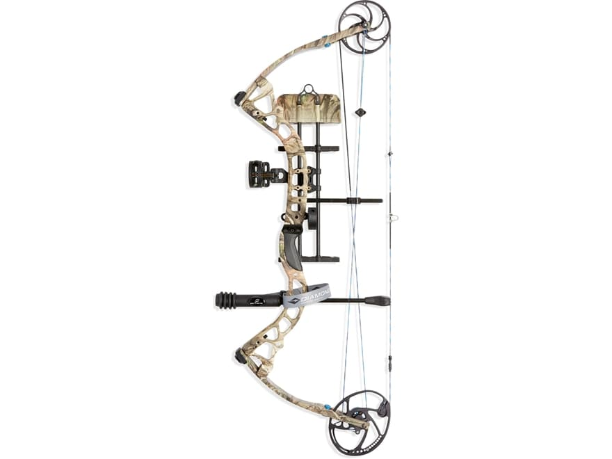 """Diamond Provider Compound Bow Package Left Hand 60-70 lb Draw Weight 25.5-31"""" Draw Leng..."""
