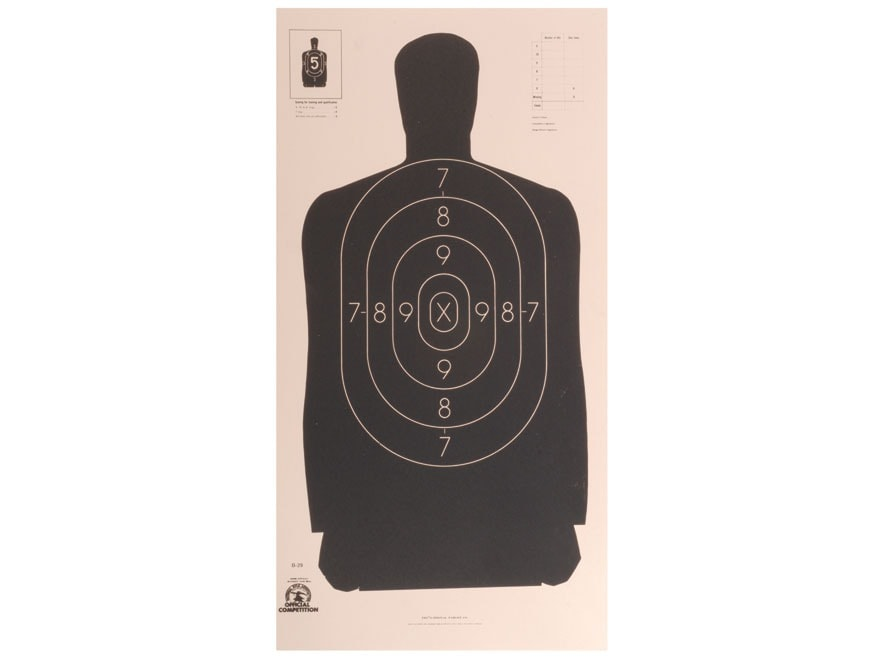 Printable Shooting Targets Gun Targets National – Desenhos Para Colorir