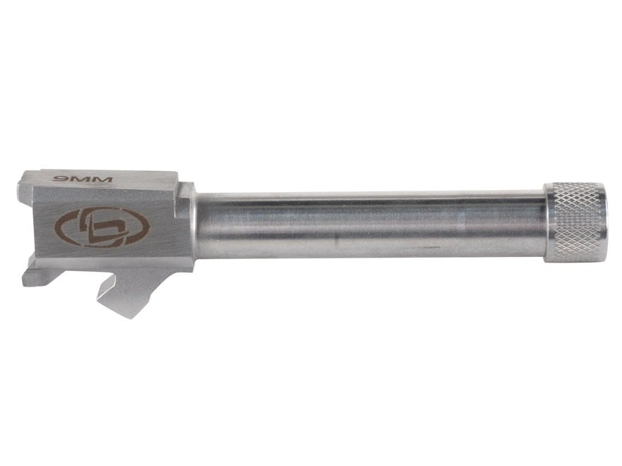 """Storm Lake Barrel Springfield XDM 9mm Luger 1 in 16"""" Twist 4.50"""" Stainless Steel 1/2""""-2..."""