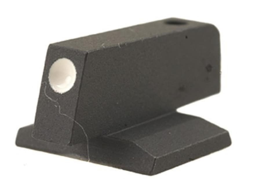 "Novak Front Sight 1911 Novak Cut .075"" Depth .225"" Height .125"" Width Steel Blue White Dot"