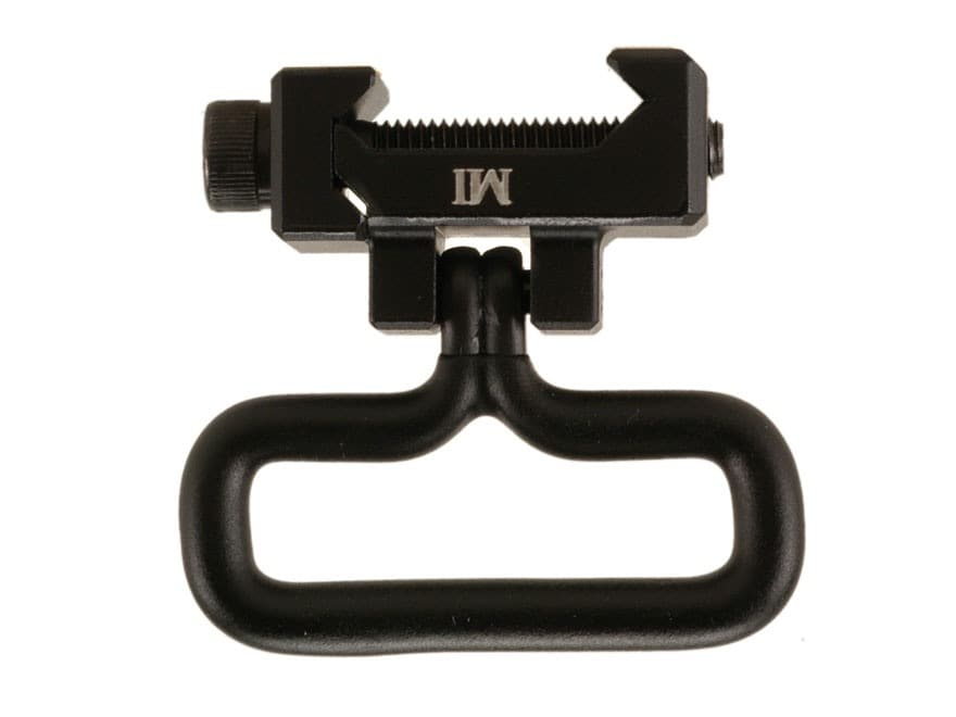 Midwest Industries Rail Mount Sling Adapter with Military-Style Sling Swivel AR-15 Alum...