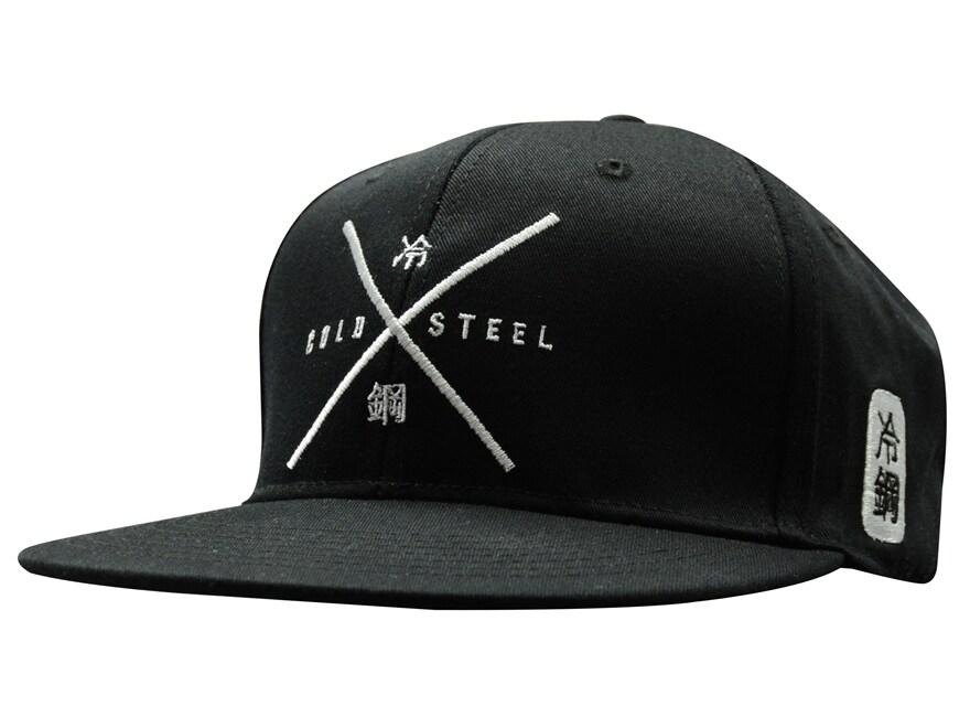 Cold Steel Logo Cap Polyester Cotton Black