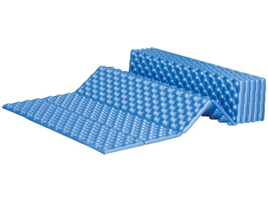 "ALPS Mountaineering Foldable Foam Sleeping Pad 22"" x 71"" x .75"" Blue"