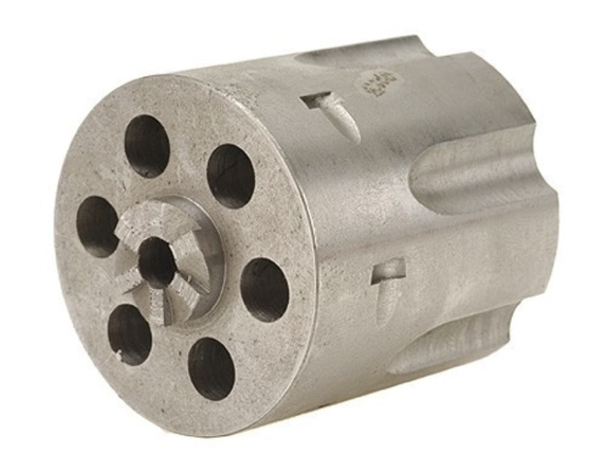 """Story Replacement Cylinder Blank .304"""" Chamber Ruger Blackhawk Steel in the White"""