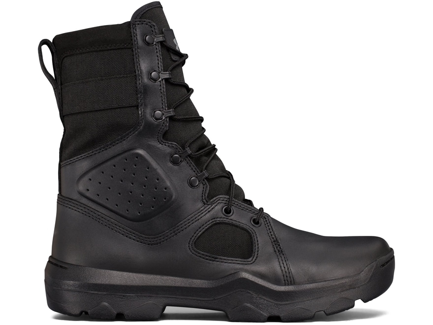 """Under Armour UA FNP 8"""" Side Zip Tactical Boots Synthetic Men's"""