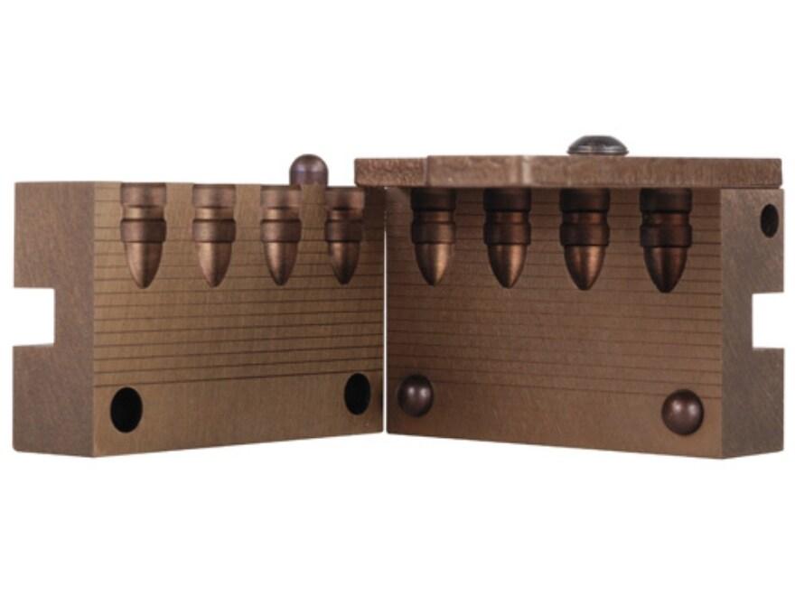 Saeco Bullet Mold #922 9mm (356 Diameter) 115 Grain Round Nose Bevel Base