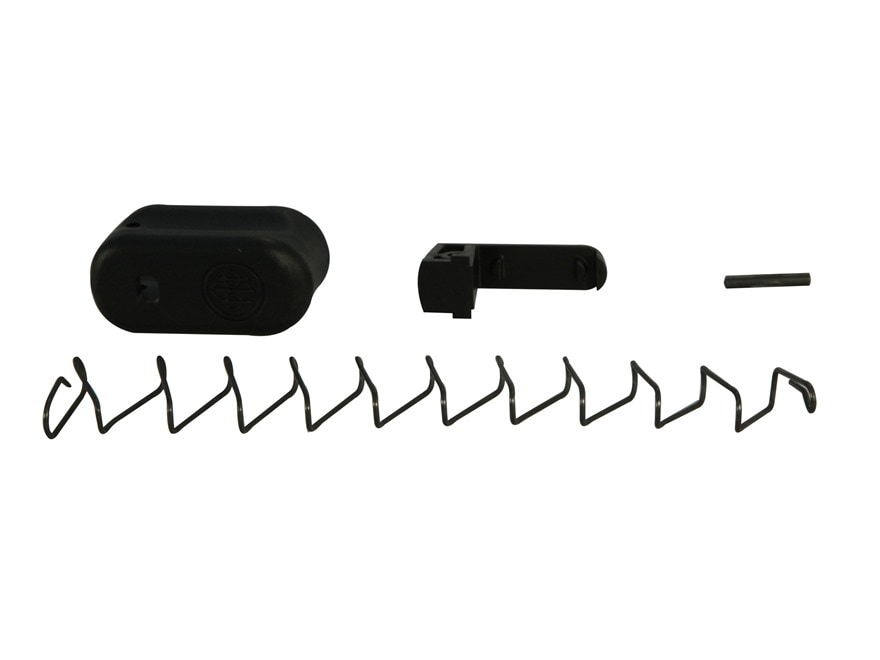 Beretta Extended Magazine Base Pad with Spring +2 Beretta Nano 9mm Luger Polymer Black