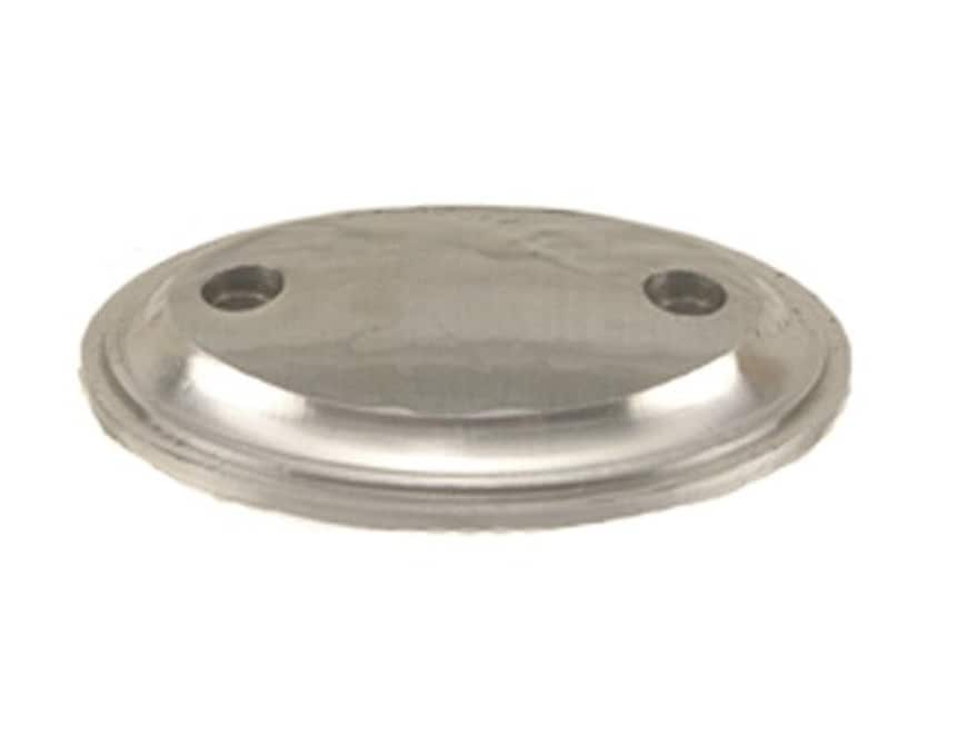 """Jerry Fisher Grip Cap 2-Screw 1.75"""" x 1.27"""" Steel in the White"""