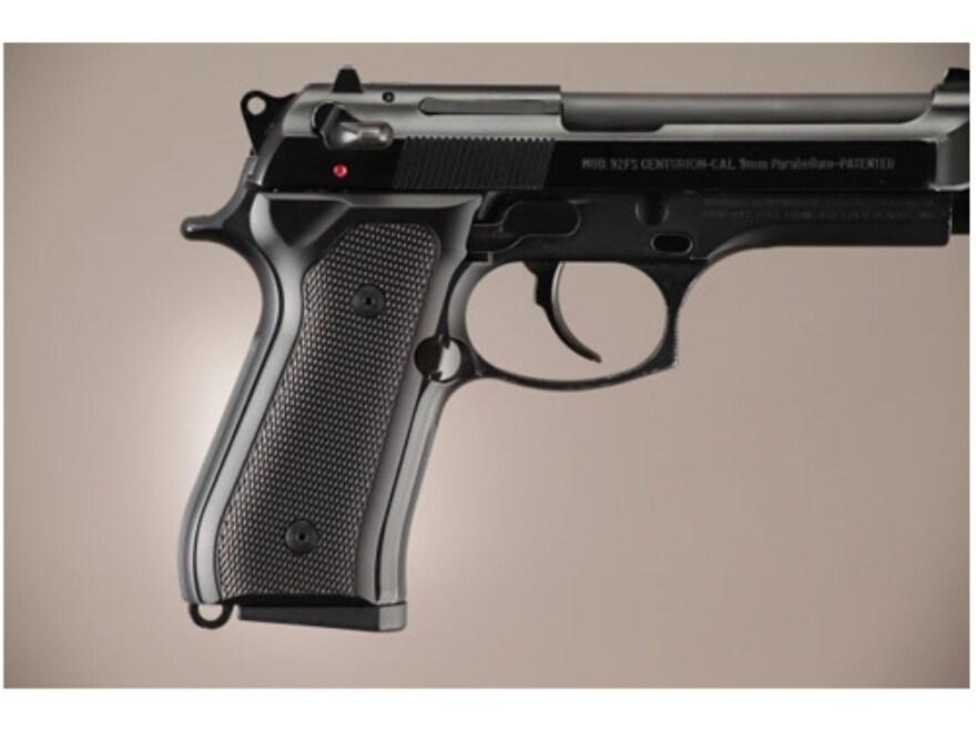 Hogue Extreme Series Grip Beretta 92F, 92FS, 92SB, 96, M9 Checkered Brushed Aluminum Gl...