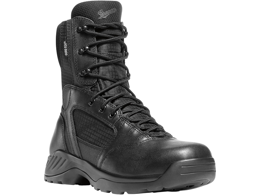 "Danner Kinetic 8"" Side-Zip Waterproof GORE-TEX Tactical Boots Leather Men's"