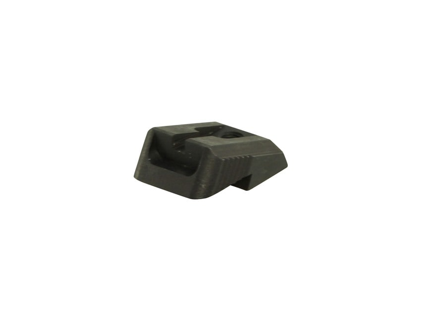 Ed Brown Rear Sight Fixed Low Profile Plain Steel Black