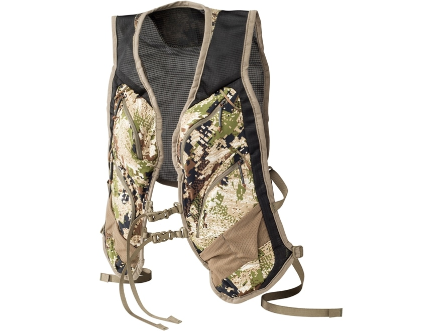 Sitka Gear Men's Ascent Gear Vest Nylon Gore Optifade Subalpine Camo