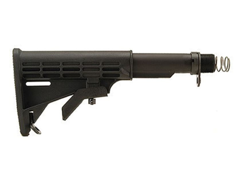 DPMS Stock Assembly 6-Position Collapsible LR-308 Carbine Synthetic Black