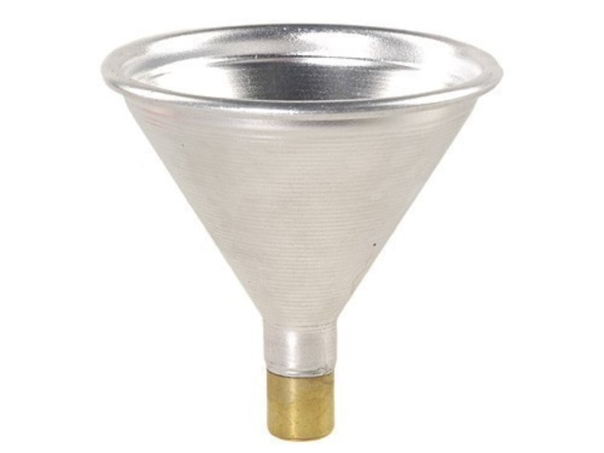 Satern Powder Funnel 50 Caliber Aluminum and Brass