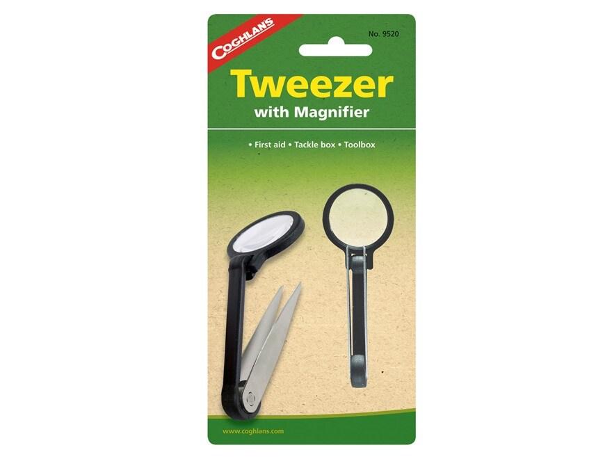 Coghlan's Tweezer and Magnifier Combo