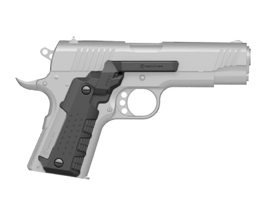 Recover Tactical CG11 Clip and Grip System 1911 Officer Polymer Black
