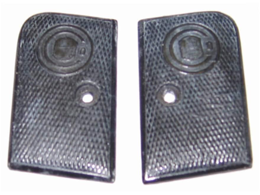 Vintage Gun Grips Pieper New Model 25 ACP Polymer Black