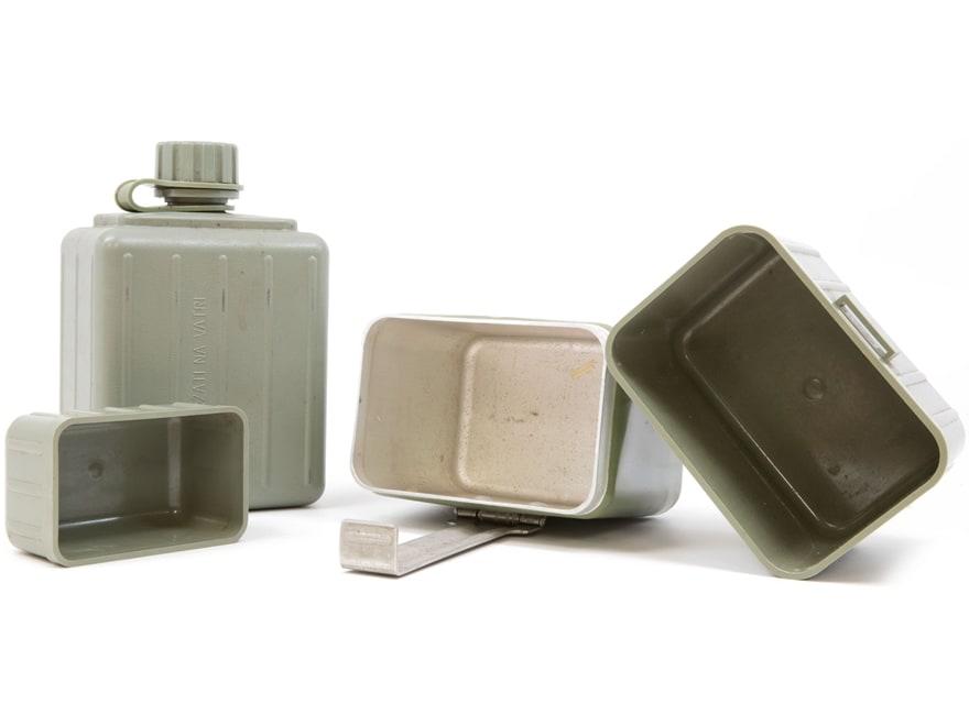 Military Surplus Serbian Mess Kit Grade 2 Olive Drab