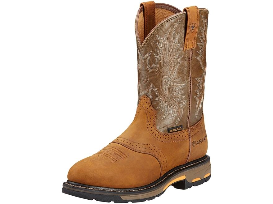 "Ariat Workhog 11"" WST Work Boots Leather Men's"