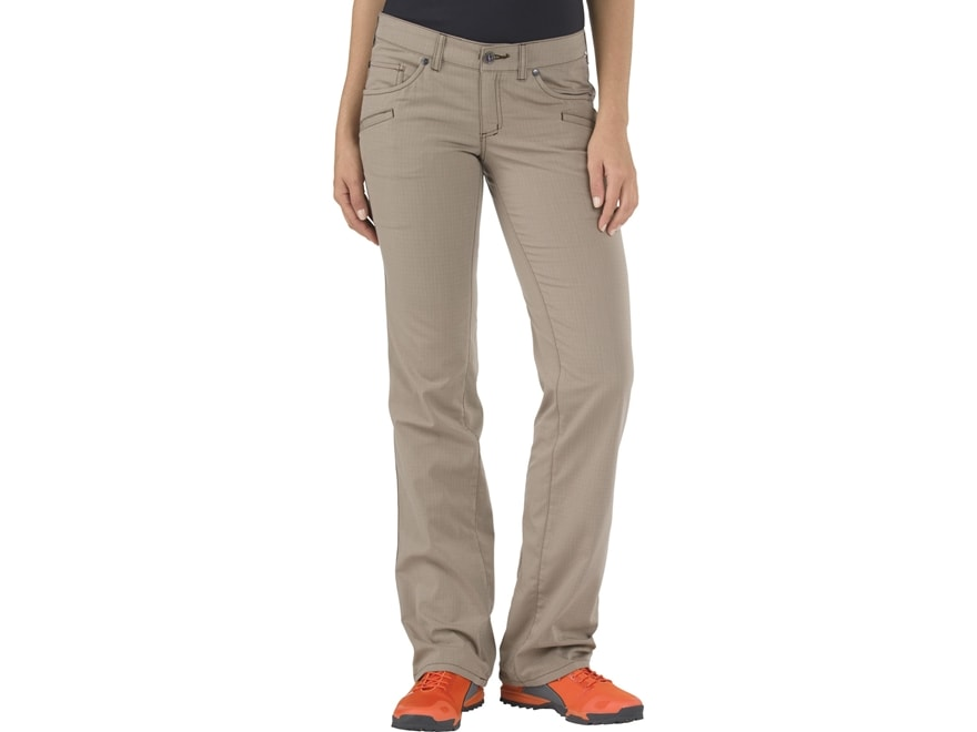 5.11 Women's Cirrus Tactical Pants with Flex-Tac Polyester and Cotton Ripstop