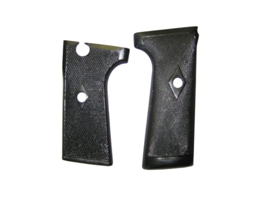 Vintage Gun Grips Webley Mark I #2 Semi-Automatic without Escutcheon Polymer Black