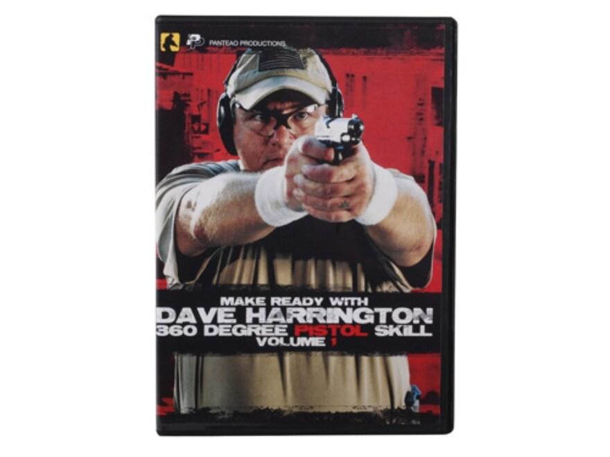 """Panteao """"Make Ready with Dave Harrington: 360 Degree Pistol Skill, Vol 1"""" DVD"""
