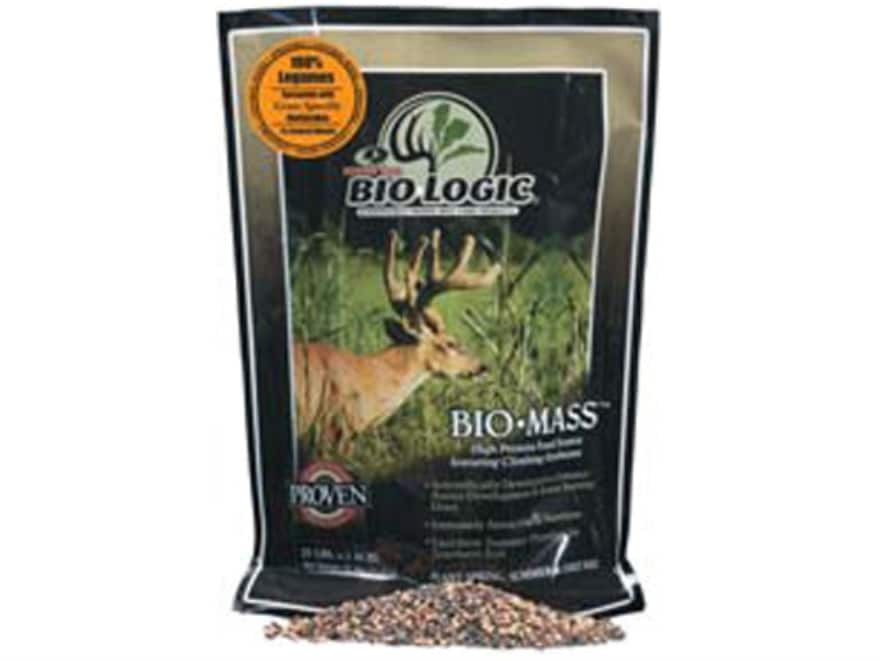 BioLogic BioMass Legume Annual Food Plot Seed Bag 25 lb