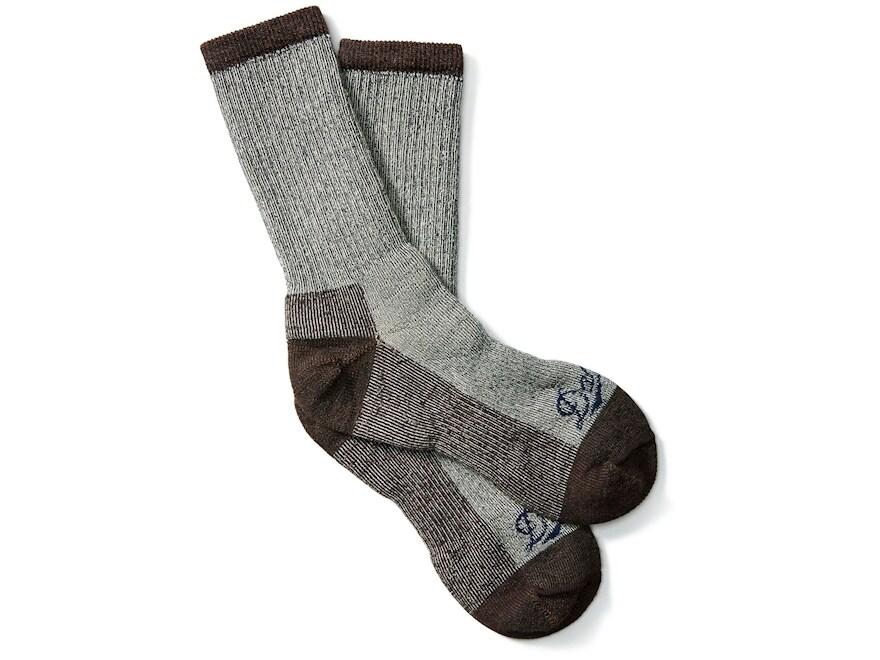 Danner Men's Midweight Crew Work Socks Merino Wool/Nylon Brown