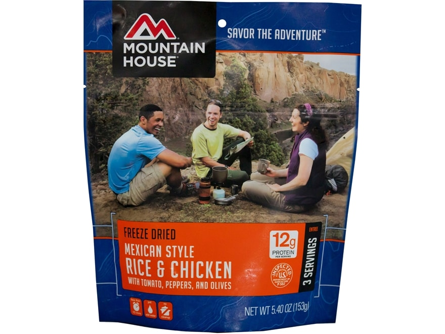 Mountain House Mexican Rice with Chicken Freeze Dried Food 5.4 oz