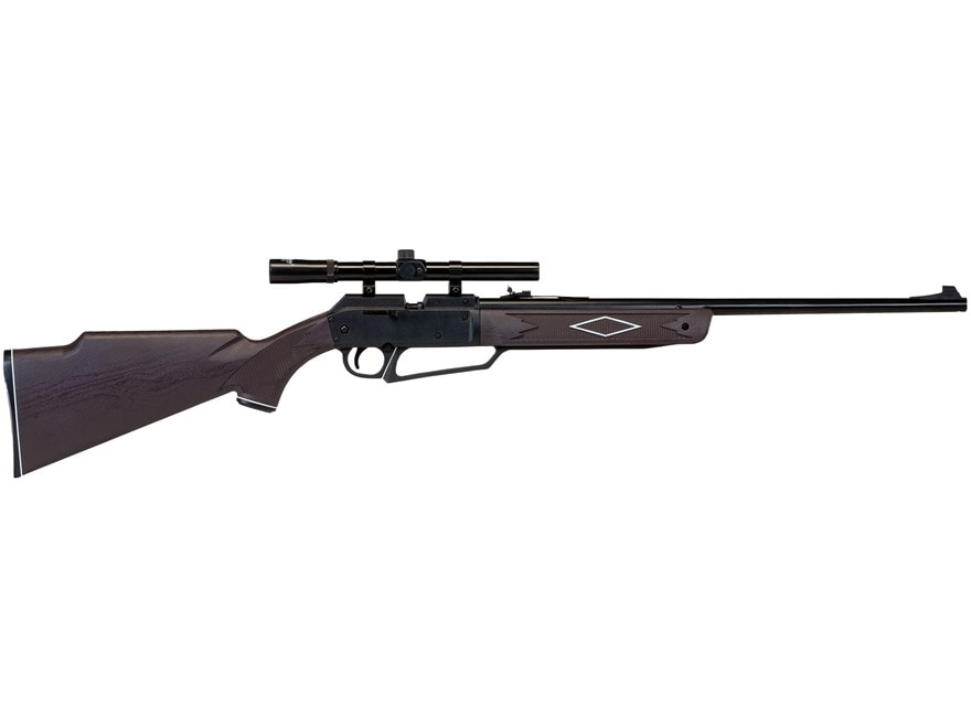 Daisy Powerline 880 Pump Air Rifle 177 Caliber BB and Pellet with Scope 4x 15mm Polymer...