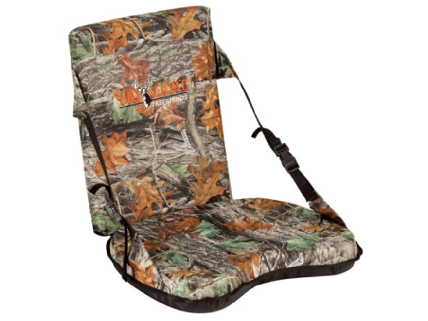 Big Game Complete Ground Seat Nylon Matrix Camo