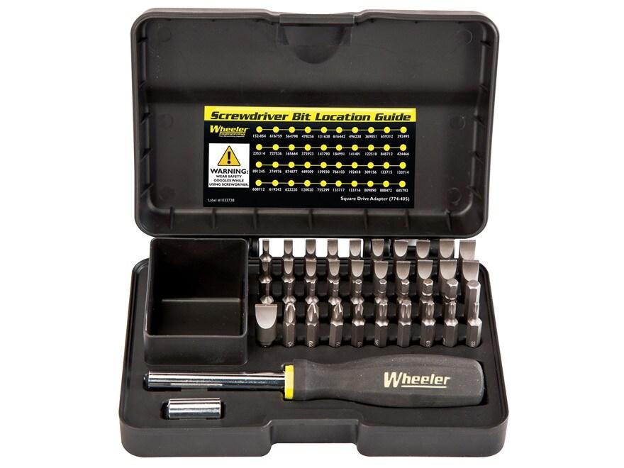 Wheeler Engineering 43-Piece Professional Gunsmithing Screwdriver Set