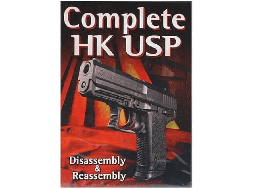 """Gun Video """"Complete Disassembly & Reassembly: HK USP"""" DVD"""