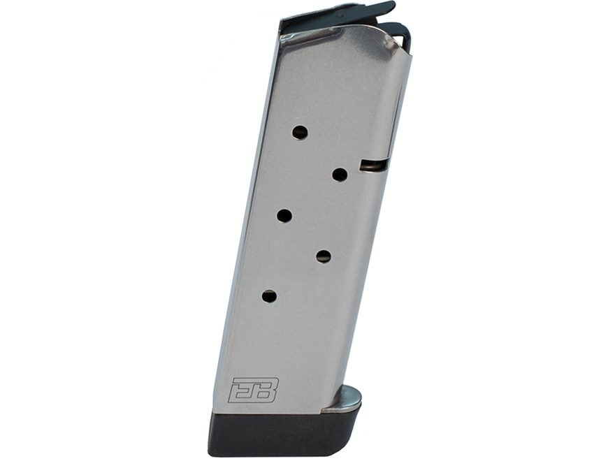 Ed Brown Magazine 1911 Government, Commander 45 ACP 7-Round Stainless Steel