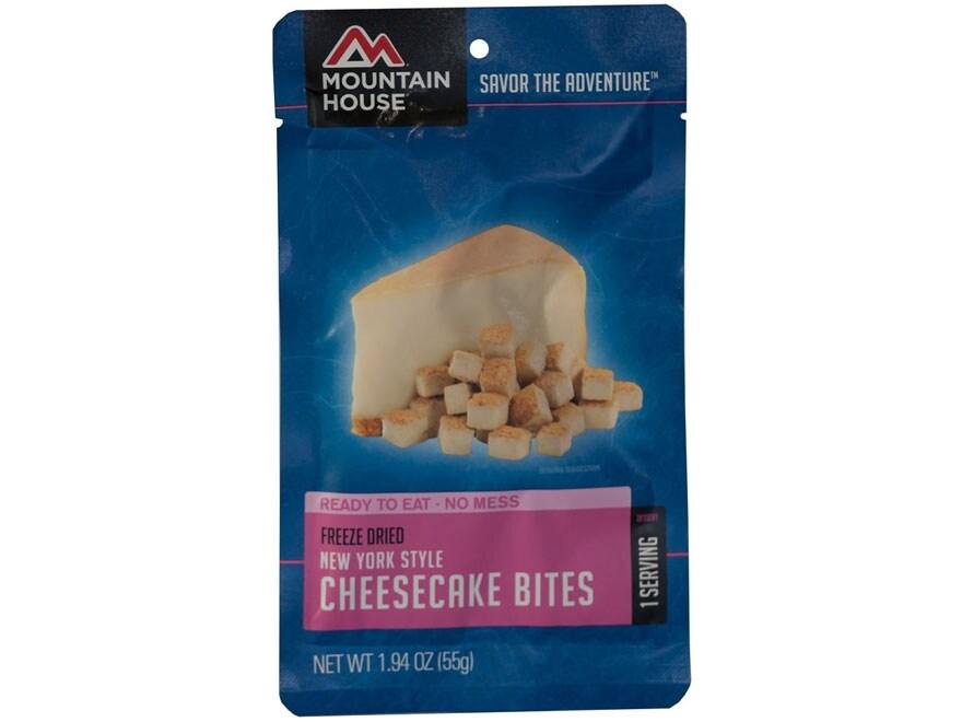 Mountain House Cheesecake Bites Freeze Dried Food 1.94 oz