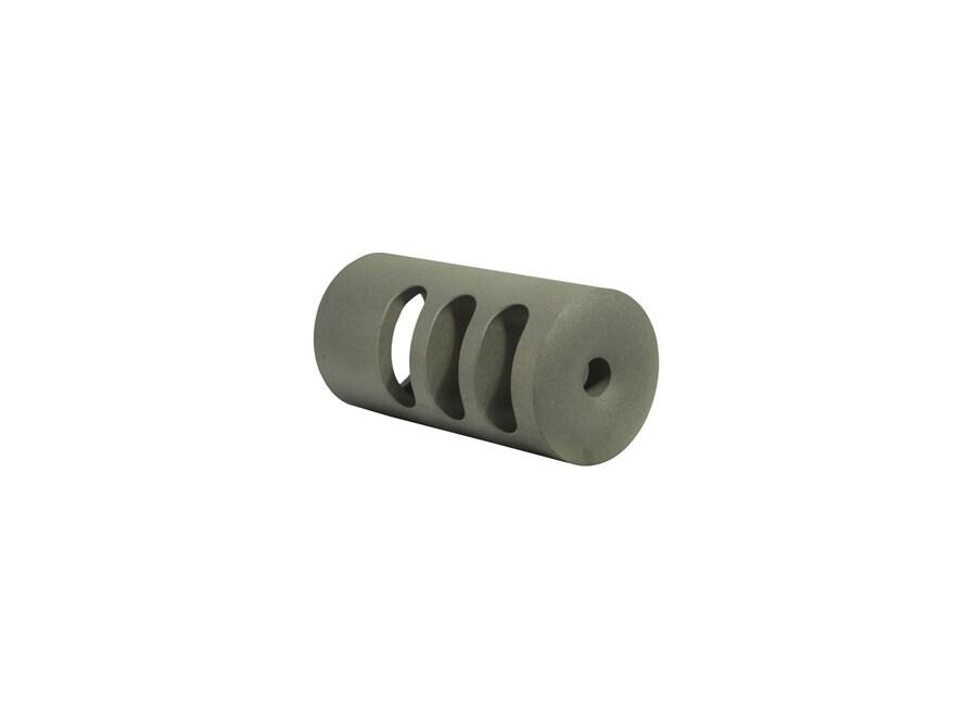 "Holland's Quick Discharge Muzzle Brake 7/8""-28 Thread .975""-1.125"" Barrel Straight Stai..."