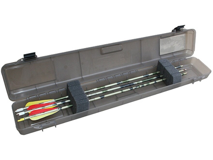 "MTM Ultra Compact Arrow Case 12 Arrows up to 32.2"" long Plastic Smoke"
