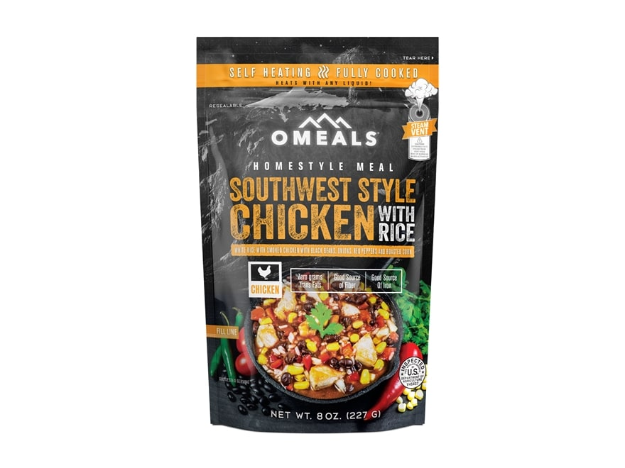 Omeals Southwest Style Chicken with Rice Self Heating Meal