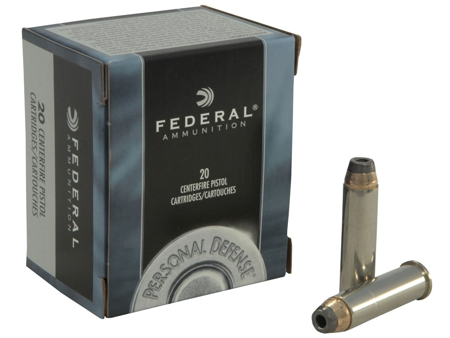 Federal Premium Personal Defense Ammunition 357 Magnum 158 Grain Jacketed Hollow Point ...